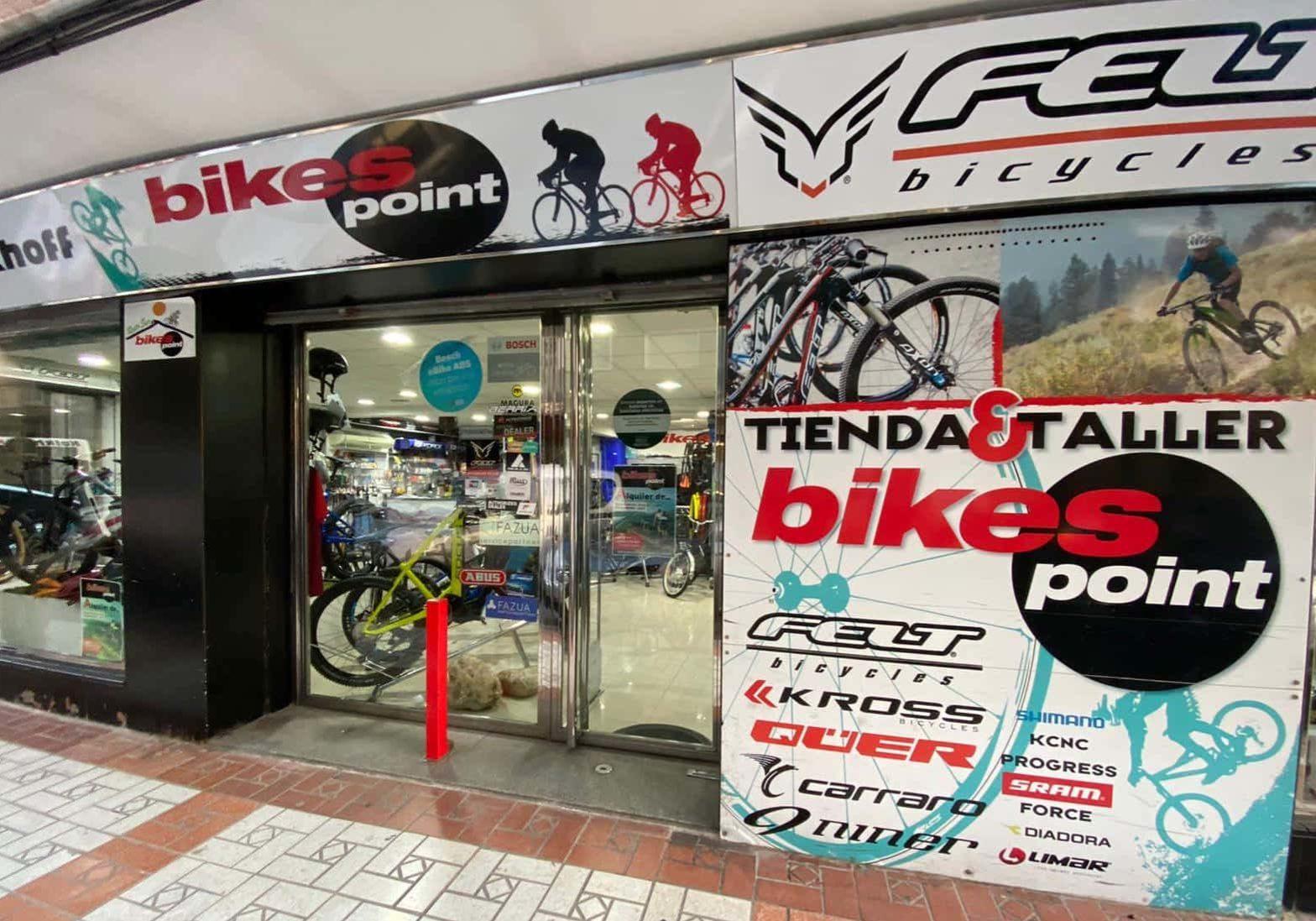Bikes point fachada